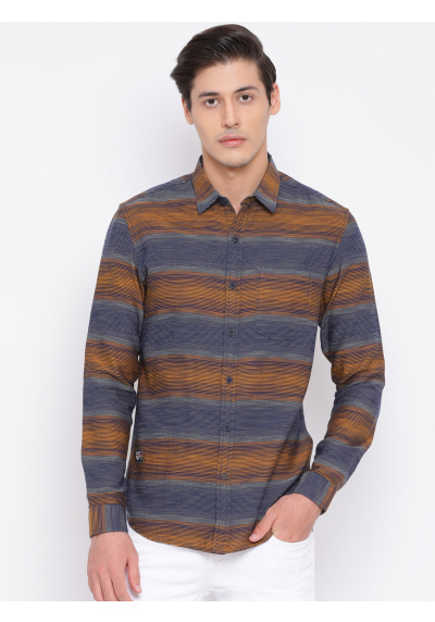 Men Casual Striped Shirt